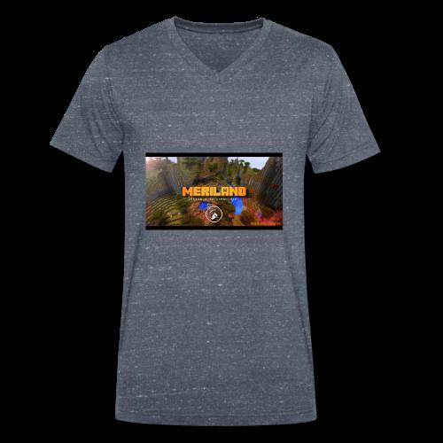 Taza Meriland con web - Camiseta ecológica hombre con cuello de pico de Stanley & Stella