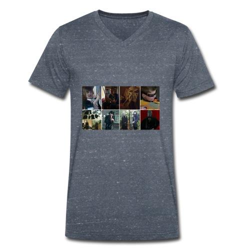 The Return Of The Sith Collage T-Shirt - Mannen bio T-shirt met V-hals van Stanley & Stella