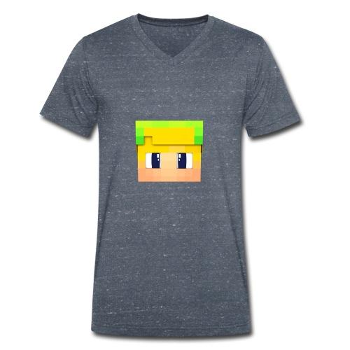 Yoshi Games Shirt - Mannen bio T-shirt met V-hals van Stanley & Stella