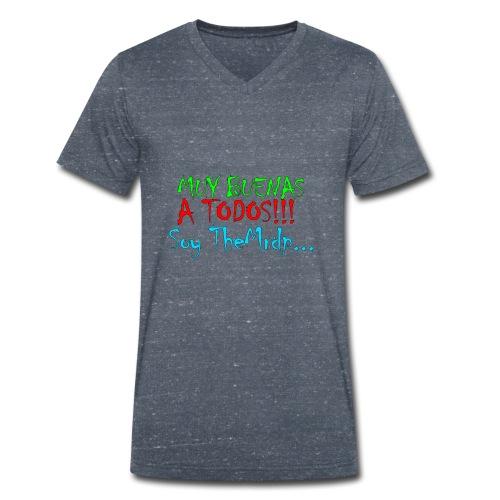 Camiseta oficial TheMrdp - Camiseta ecológica hombre con cuello de pico de Stanley & Stella