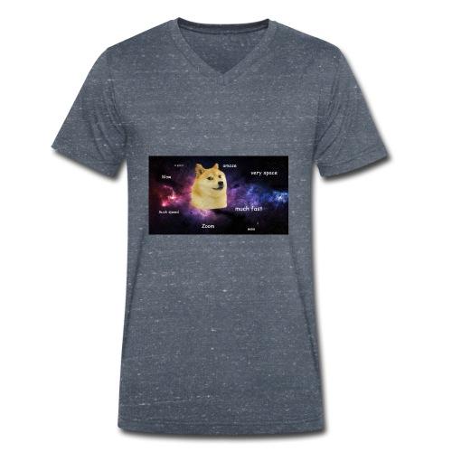 Space Dodge - Männer Bio-T-Shirt mit V-Ausschnitt von Stanley & Stella