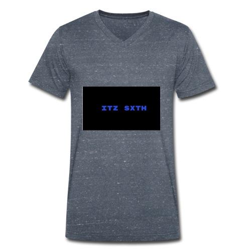 Itz Sxth Navy Clothing - Men's Organic V-Neck T-Shirt by Stanley & Stella