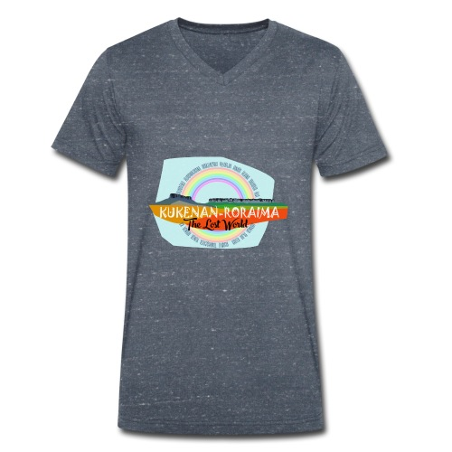 Roraima and Kukenan, The Lost World - Camiseta ecológica hombre con cuello de pico de Stanley & Stella