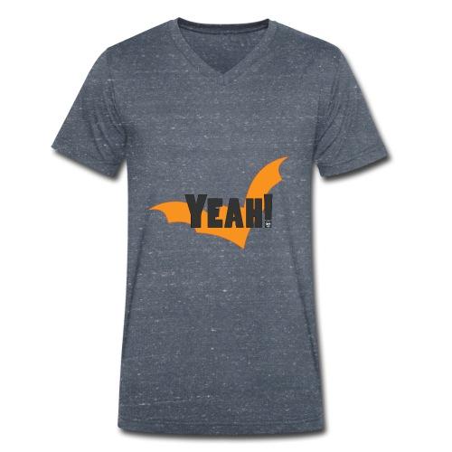 Yelloweenah--png - T-shirt ecologica da uomo con scollo a V di Stanley & Stella