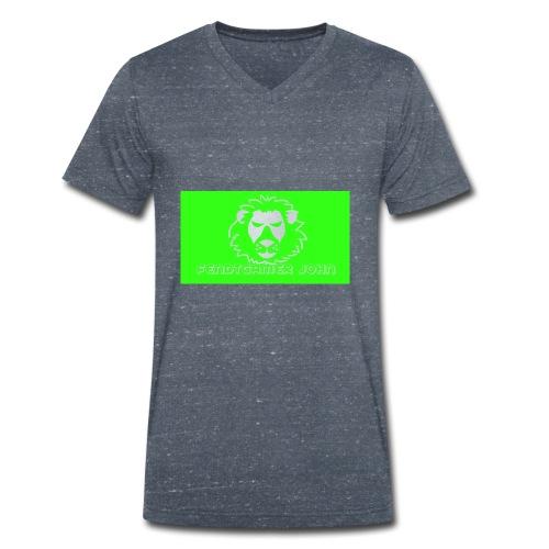 youtube merchandise - Männer Bio-T-Shirt mit V-Ausschnitt von Stanley & Stella
