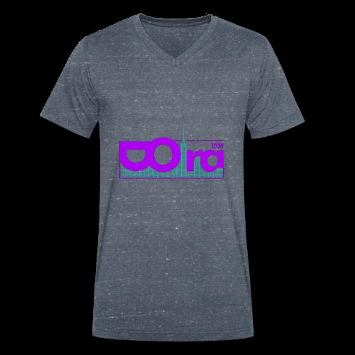 DORA Crew Logo Delic II - T-shirt ecologica da uomo con scollo a V di Stanley & Stella