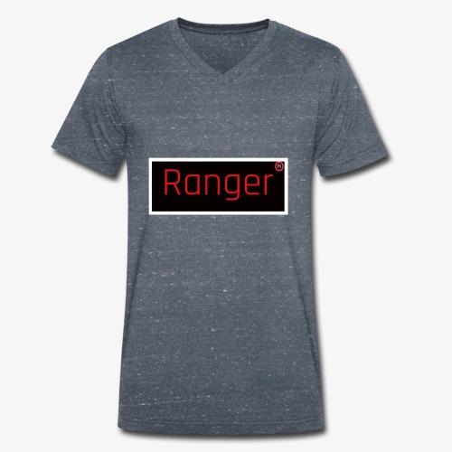 Ranger - Mannen bio T-shirt met V-hals van Stanley & Stella
