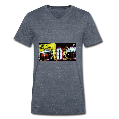 dark night - T-shirt ecologica da uomo con scollo a V di Stanley & Stella