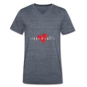 Amo Vezza d'Oglio - T-shirt ecologica da uomo con scollo a V di Stanley & Stella