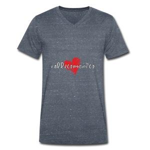 Amo la Vallecamonica - T-shirt ecologica da uomo con scollo a V di Stanley & Stella