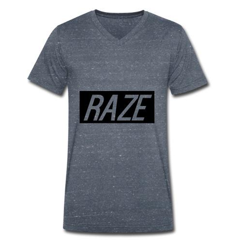 Raze - Men's Organic V-Neck T-Shirt by Stanley & Stella