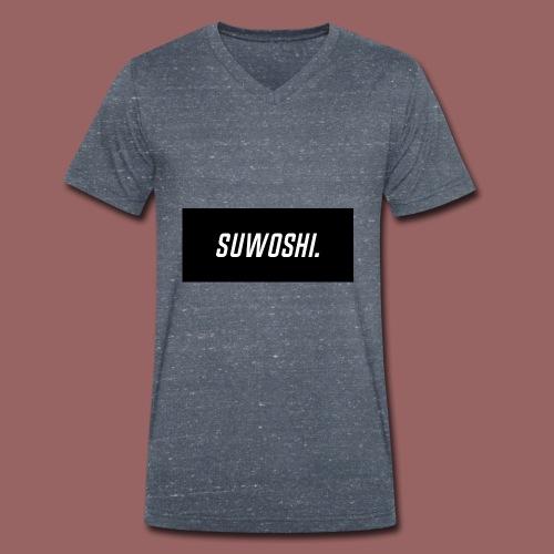 Suwoshi Sport - Mannen bio T-shirt met V-hals van Stanley & Stella