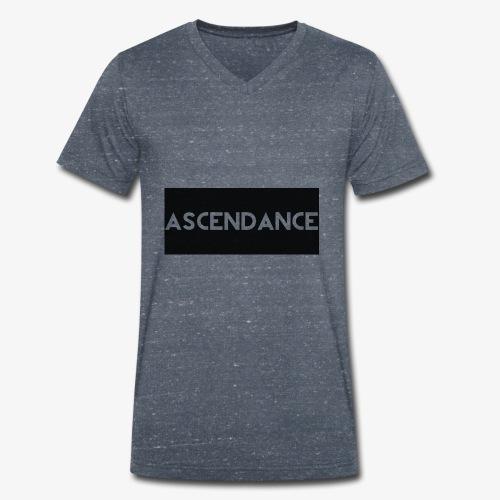 Acendancelogo - Men's Organic V-Neck T-Shirt by Stanley & Stella