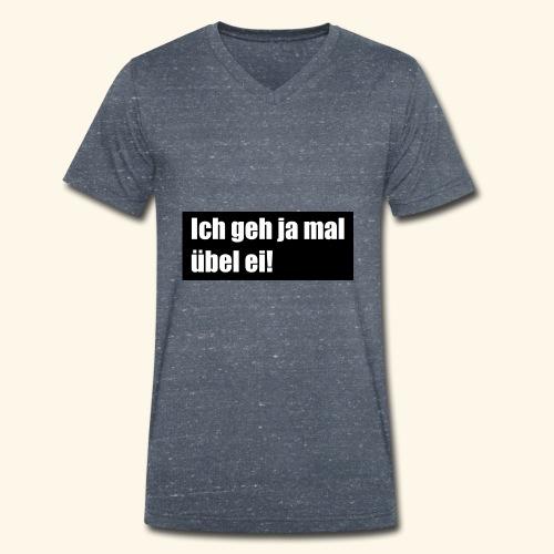 Party Over - Männer Bio-T-Shirt mit V-Ausschnitt von Stanley & Stella