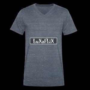 Luxaflix Cap - Mannen bio T-shirt met V-hals van Stanley & Stella