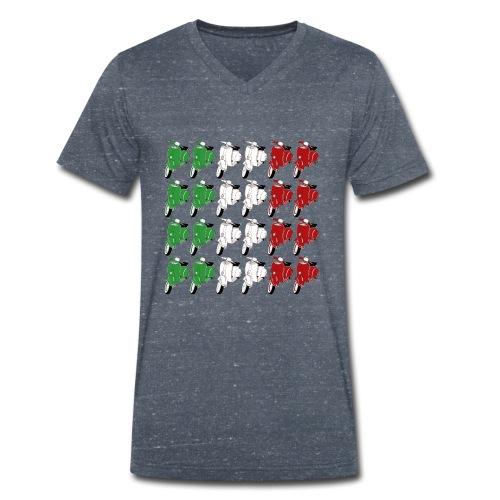 Italian_flag-png - T-shirt ecologica da uomo con scollo a V di Stanley & Stella