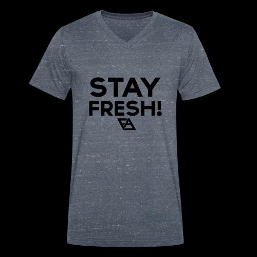 STAY FRESH! T-paita - Stanley & Stellan naisten luomupikeepaita