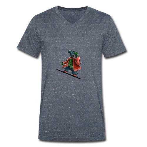 Snowboard - Men's Organic V-Neck T-Shirt by Stanley & Stella