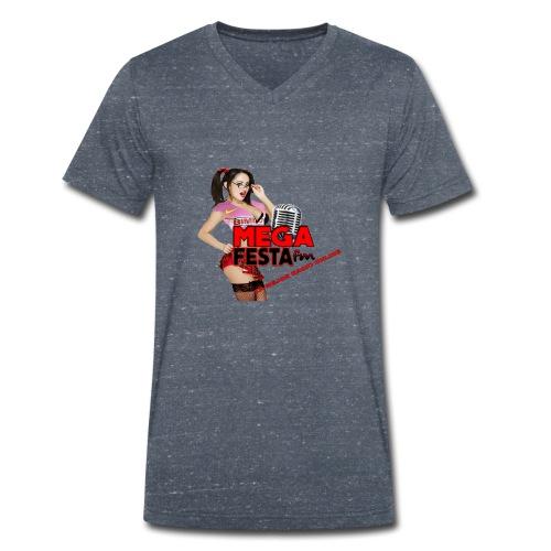 dise--ocamiseta-png - Camiseta ecológica hombre con cuello de pico de Stanley & Stella