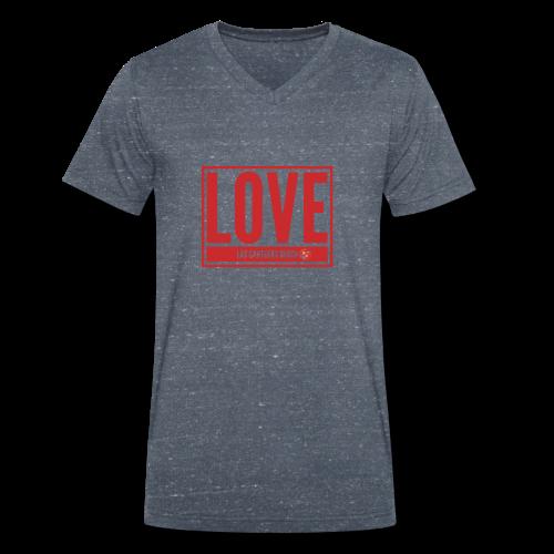 Love Las Canteras - Camiseta ecológica hombre con cuello de pico de Stanley & Stella