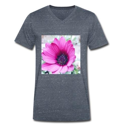 Flowerista - Männer Bio-T-Shirt mit V-Ausschnitt von Stanley & Stella