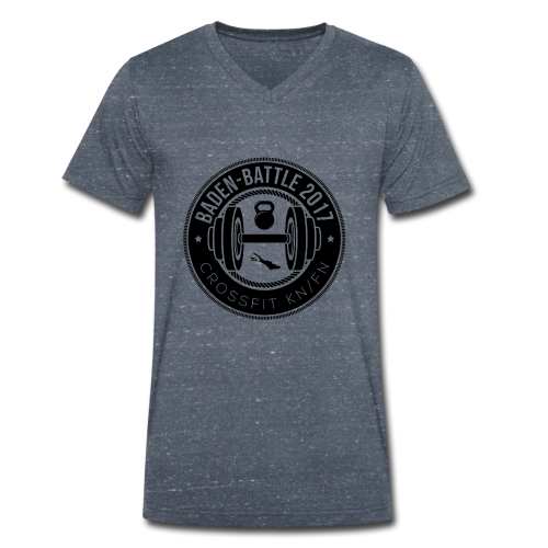 Crossfit Friedrichshafen / Konstanz Baden-Battle - Männer Bio-T-Shirt mit V-Ausschnitt von Stanley & Stella