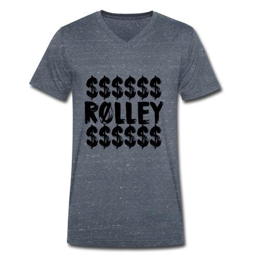 Rolley - Männer Bio-T-Shirt mit V-Ausschnitt von Stanley & Stella