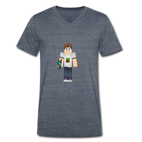 ViddeVis Herr Tröja 13år-upp - Ekologisk T-shirt med V-ringning herr från Stanley & Stella