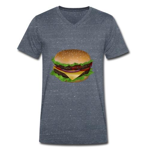 Burger - Ekologisk T-shirt med V-ringning herr från Stanley & Stella