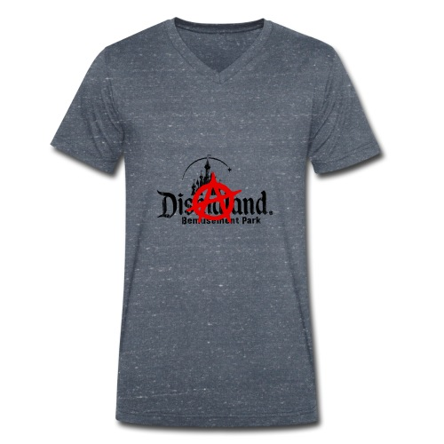 Anarchy ain't on sale(Dismaland unofficial gadget) - Men's Organic V-Neck T-Shirt by Stanley & Stella