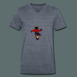 Insane Refush Hoodie - Mannen bio T-shirt met V-hals van Stanley & Stella