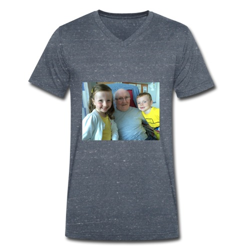 Me Papa Lewis - Men's Organic V-Neck T-Shirt by Stanley & Stella