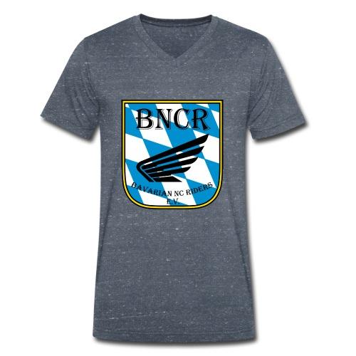 e.V. Bekleidung - Männer Bio-T-Shirt mit V-Ausschnitt von Stanley & Stella