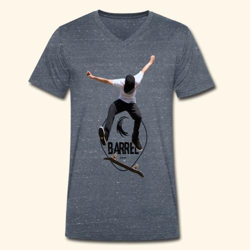 Barrel_skate - Camiseta ecológica hombre con cuello de pico de Stanley & Stella