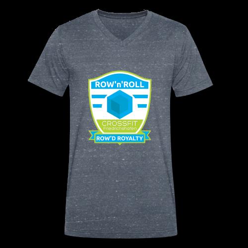 CrossFit Friedrichshafen Rowing Competition Design - Männer Bio-T-Shirt mit V-Ausschnitt von Stanley & Stella