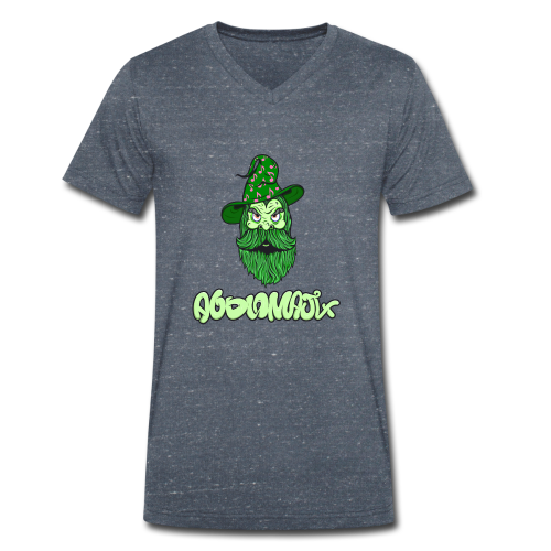 Wizard Green - Men's Organic V-Neck T-Shirt by Stanley & Stella