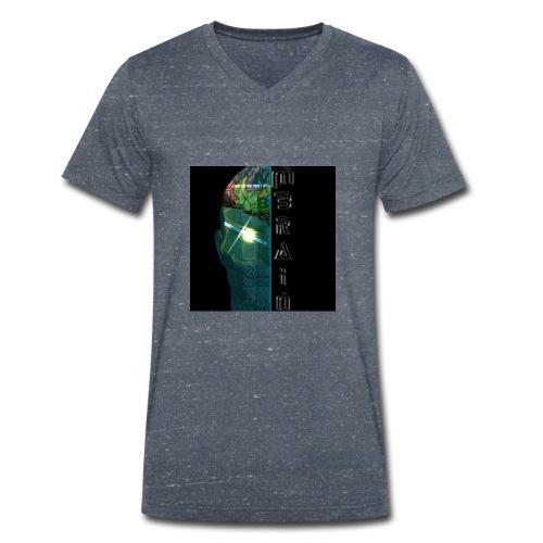 MBRAIN - T-shirt ecologica da uomo con scollo a V di Stanley & Stella