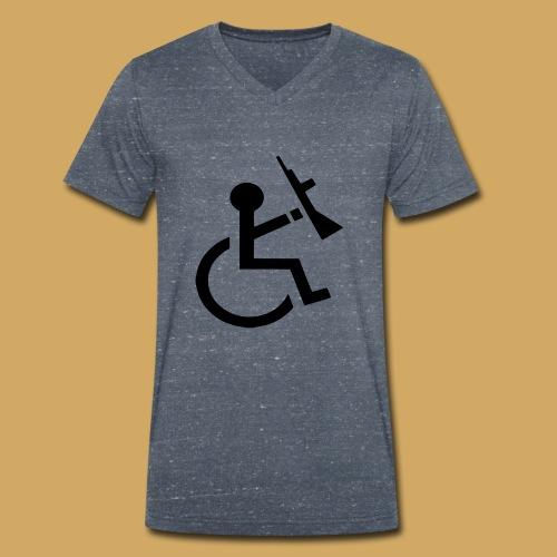 wcmarmed - Mannen bio T-shirt met V-hals van Stanley & Stella