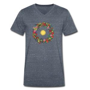 La Couronne des abeilles The Bee Crown - T-shirt bio col V Stanley & Stella Homme