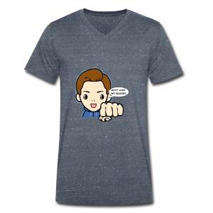 Don't leave me hanging - Mannen bio T-shirt met V-hals van Stanley & Stella