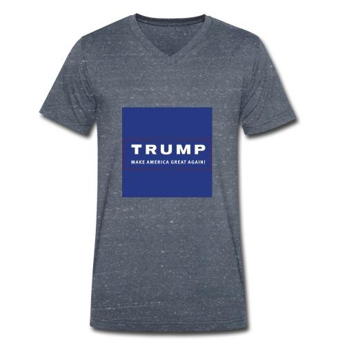 trump - Mannen bio T-shirt met V-hals van Stanley & Stella