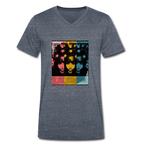 Digital natives - Männer Bio-T-Shirt mit V-Ausschnitt von Stanley & Stella