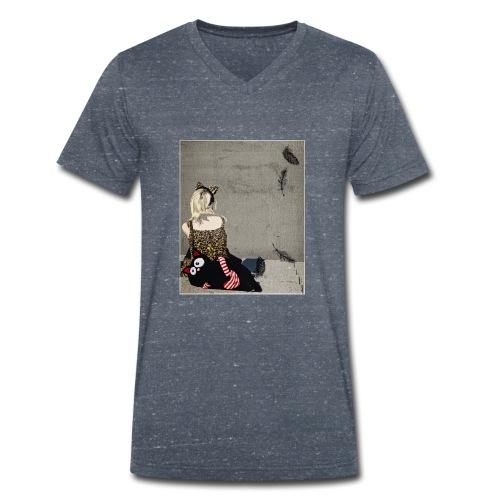 Cosplay girl - Männer Bio-T-Shirt mit V-Ausschnitt von Stanley & Stella