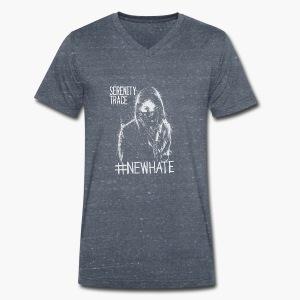 #NewHate Female - Økologisk T-skjorte med V-hals for menn fra Stanley & Stella