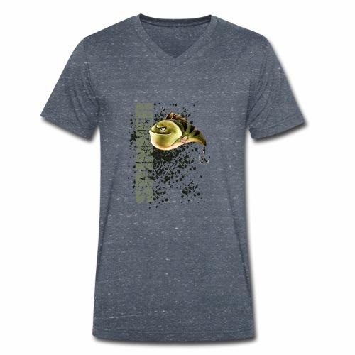 spinner schwarz olive - Männer Bio-T-Shirt mit V-Ausschnitt von Stanley & Stella