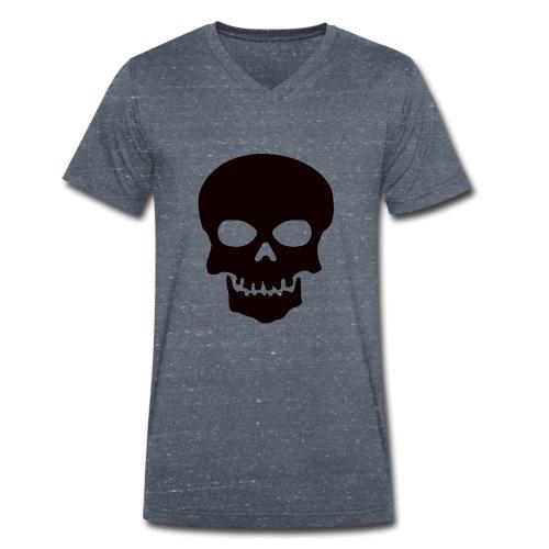 Skeleton-Style - Økologisk T-skjorte med V-hals for menn fra Stanley & Stella