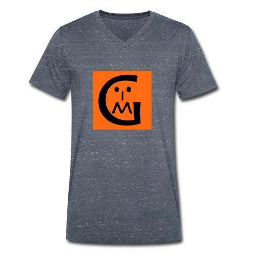 Myzrable Gaming Logo - Men's Organic V-Neck T-Shirt by Stanley & Stella