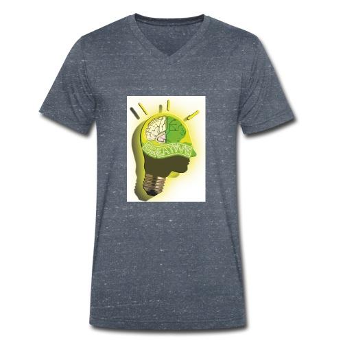 CREATIVE_SNARF - Camiseta ecológica hombre con cuello de pico de Stanley & Stella