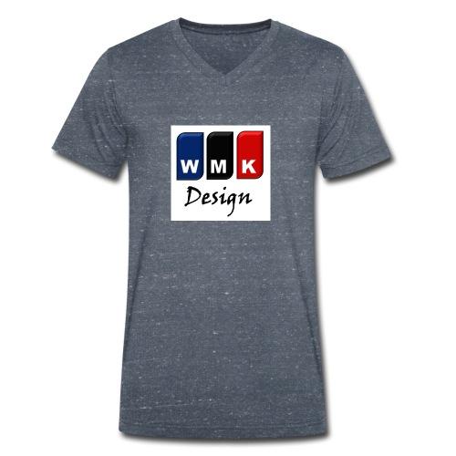 WMKDesign1 - Camiseta ecológica hombre con cuello de pico de Stanley & Stella