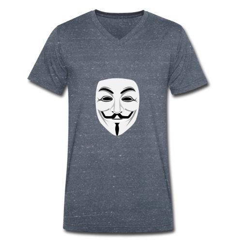 Anonymous - Men's Organic V-Neck T-Shirt by Stanley & Stella